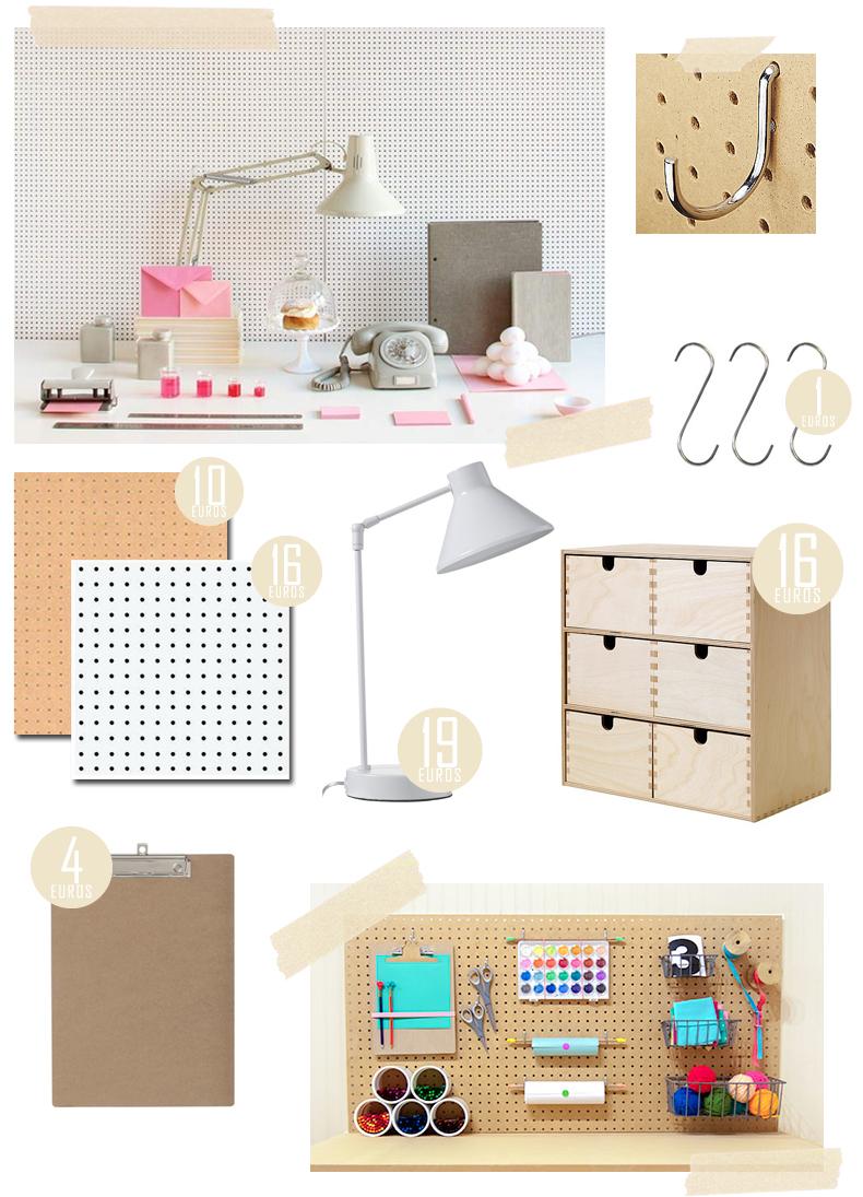 isorel perfore pas cher. Black Bedroom Furniture Sets. Home Design Ideas