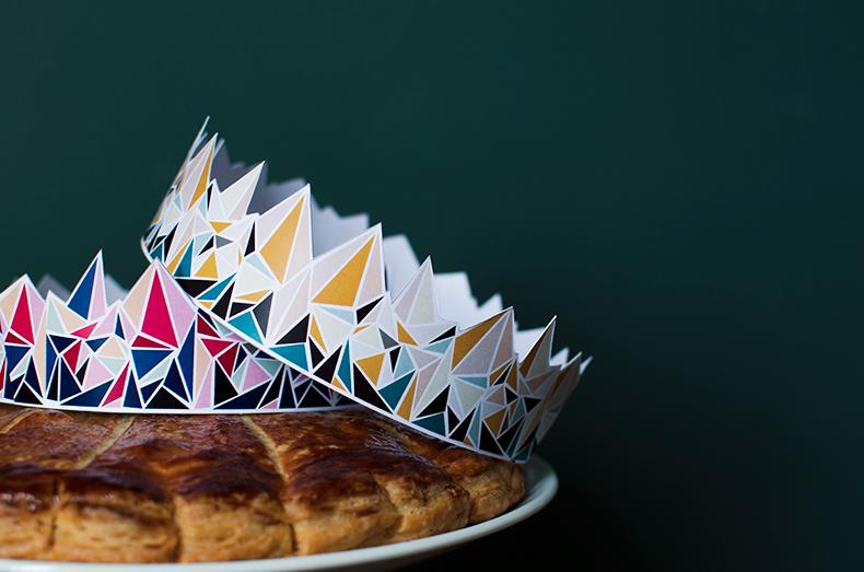 La galette des rois fa on mamie b - Decor galette des rois ...
