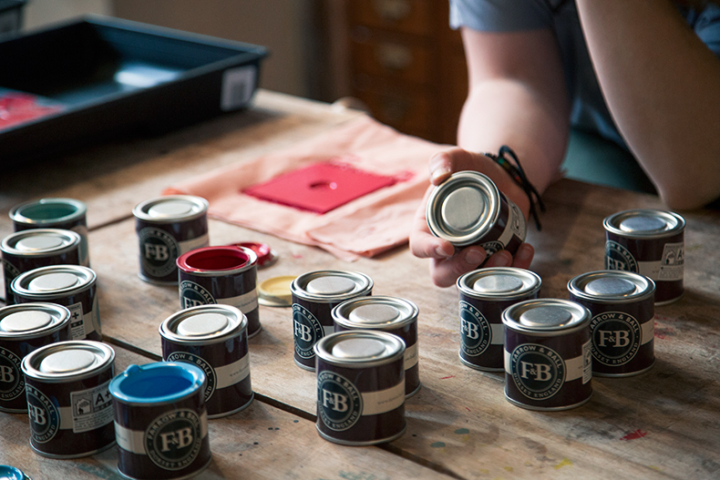 Premier sunday diy l etablisienne - Farrow and ball marais ...
