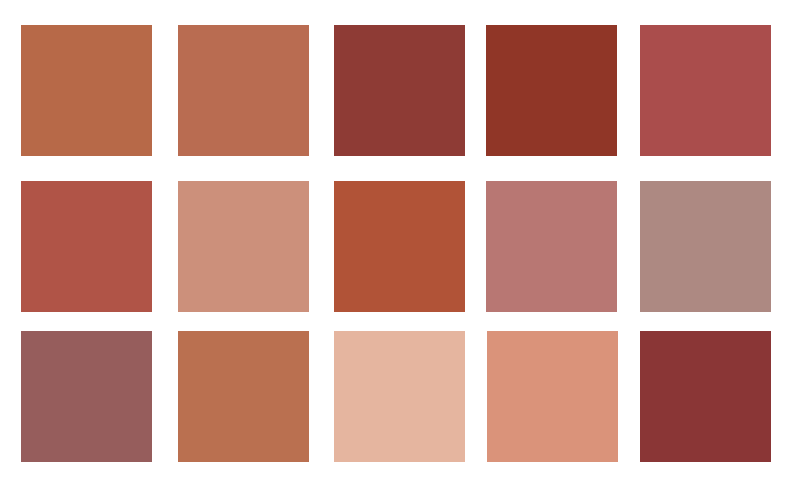 Terra Cotta Blush Co Mamie Boude
