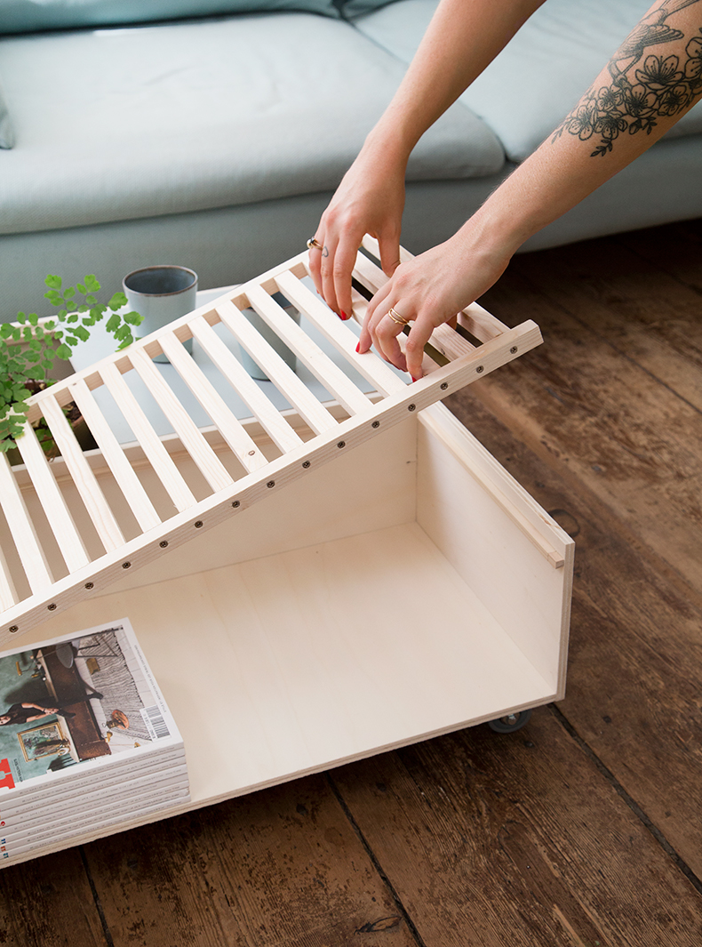 Tuto Table Basse Bois diy – une table basse modulable – mamie boude