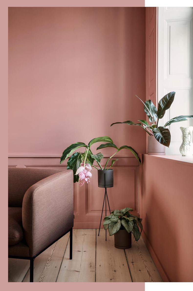 Quel Mur Peindre En Couleur Salon terra cotta, blush & co – mamie boude