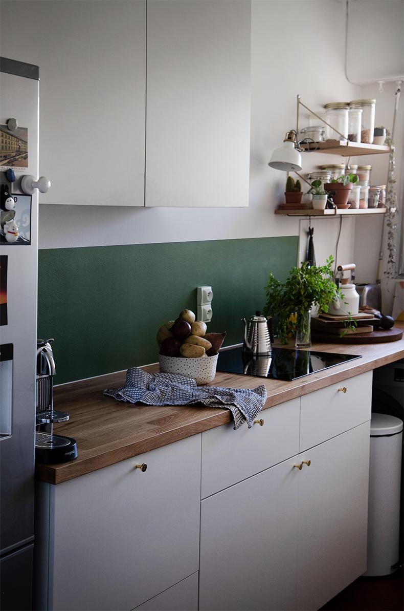 Meuble Cuisine Ikea Vide Sanitaire notre cuisine « make over » – mamie boude